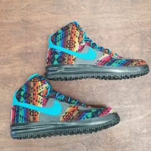 NIKE Air Force 1 ID Pendleton High Sneaker